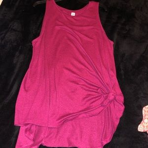old navy athletic pink top